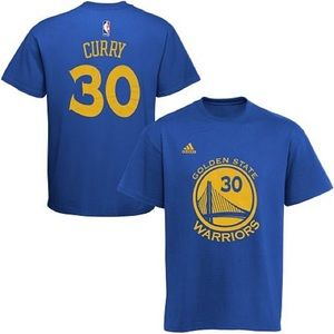 Adidas Steph Curry Golden Sate Blue T-Shirt
